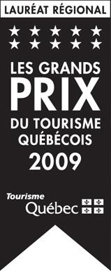 Lauréat régionnal | Les Grands Prix du Tourisme Québécois 2009